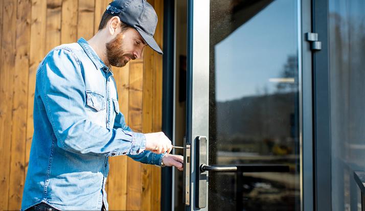 皇家金盾指纹锁高标准的售后安装应该怎么做?