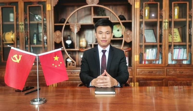 皇家金盾指纹锁董事长刘建新2020新年贺词
